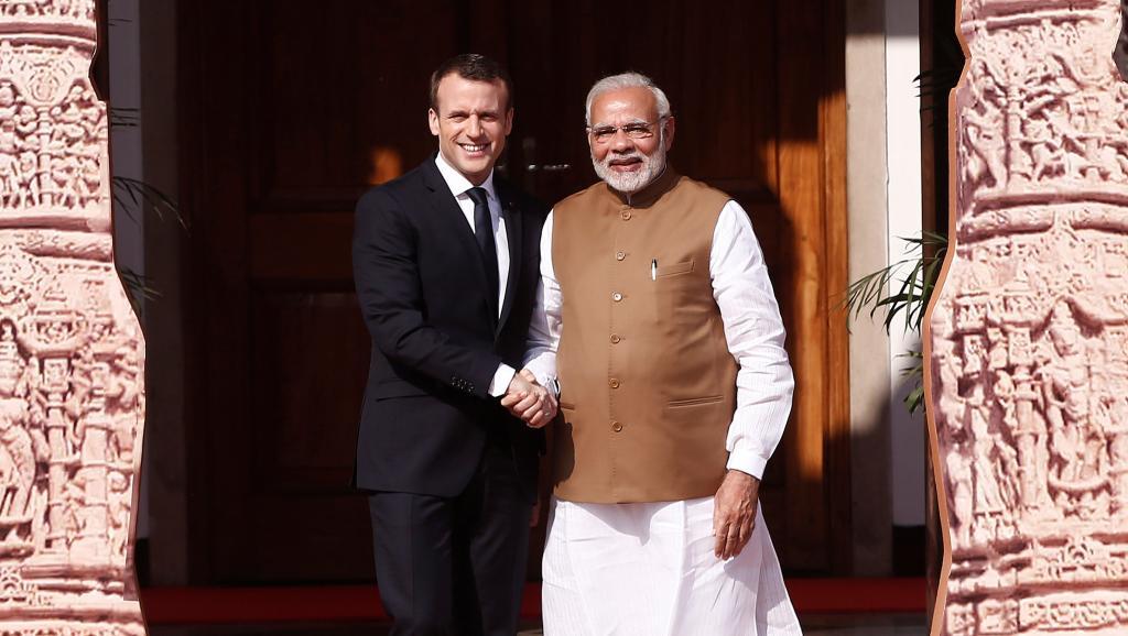 Emmanuel Macron reçoit Narendra Modi et l'invite au G7