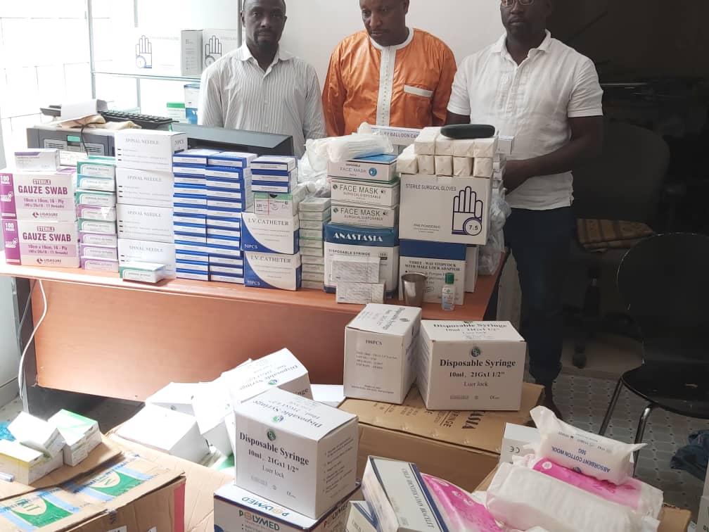 Accident à Badiouré : un responsable politique de Rewmi débloque 2 millions F CFA pour secourir les malades