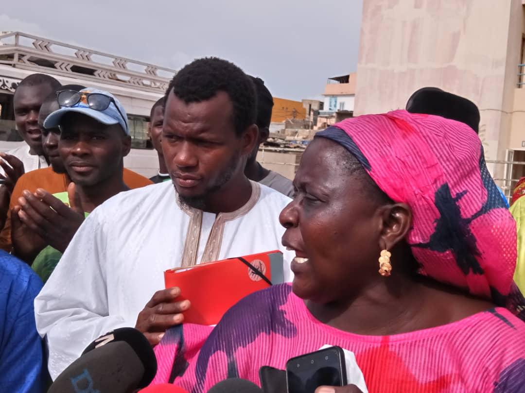 Les déguerpis du Stade Léopold Sédar Senghor donnent un ultimatum de 72 heures aux autorités