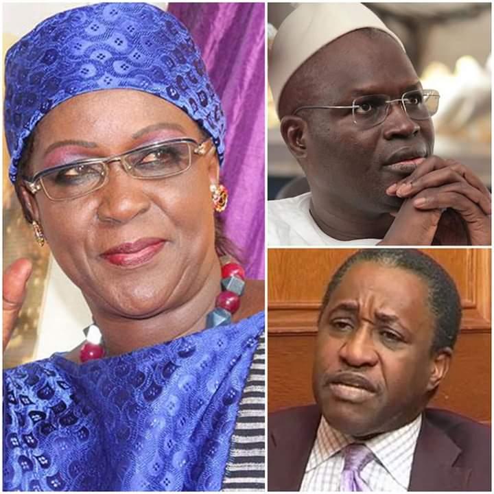 Hamsatou Sow Sidibé rend visite à Khalifa Sall et à Adama Gaye à la prison