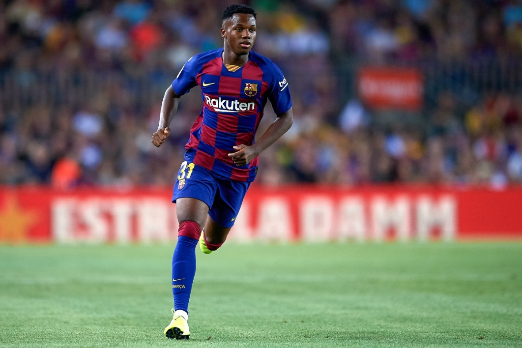 Barça: Ansu Fati s'imagine jouer pour l'Espagne