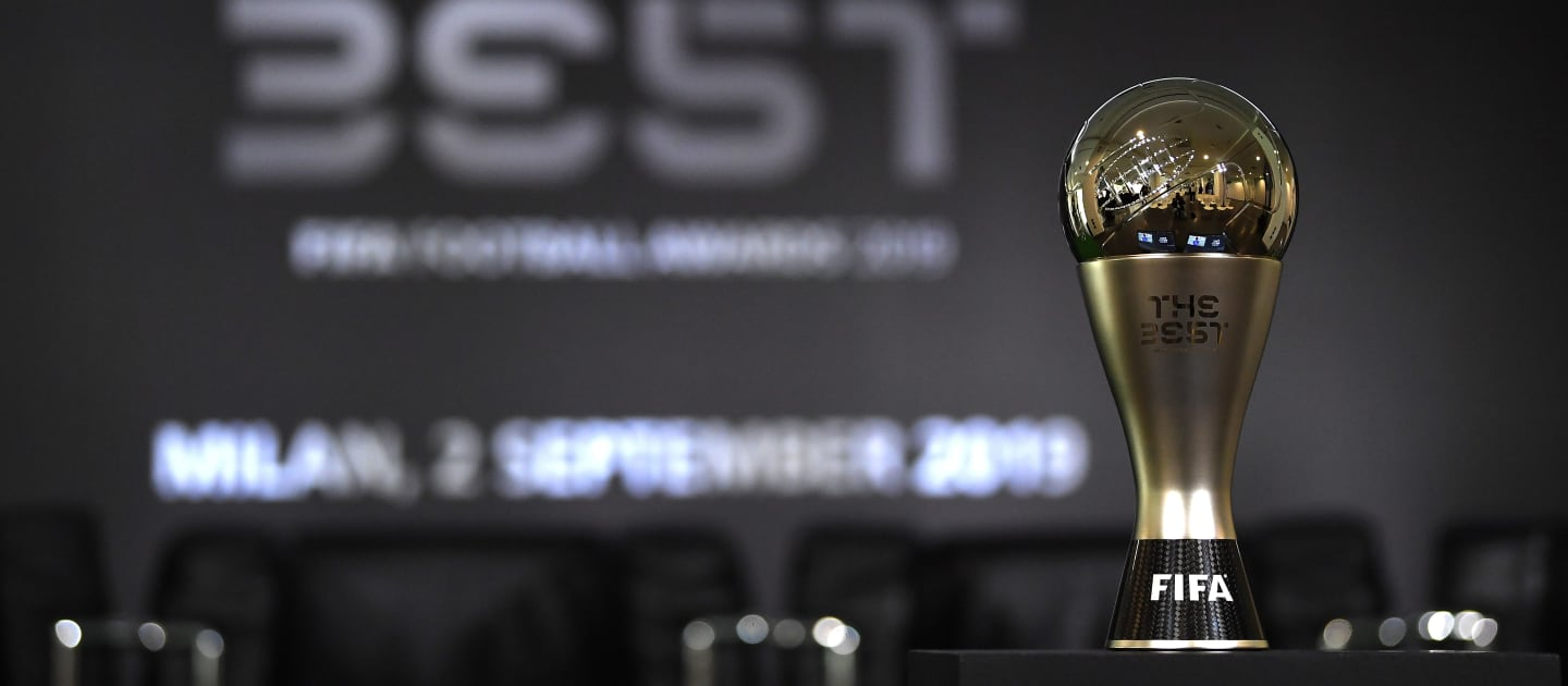 Liste complète des finalistes des The Best FIFA Football Awards 2018/2019
