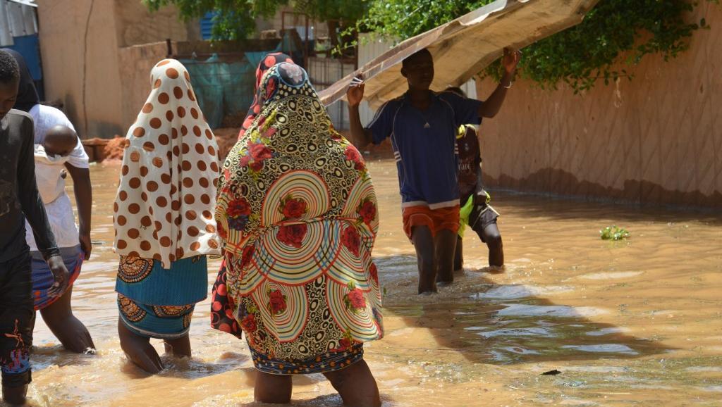 Inondations au Niger: inquiétude avant l'arrivée des eaux du Mali