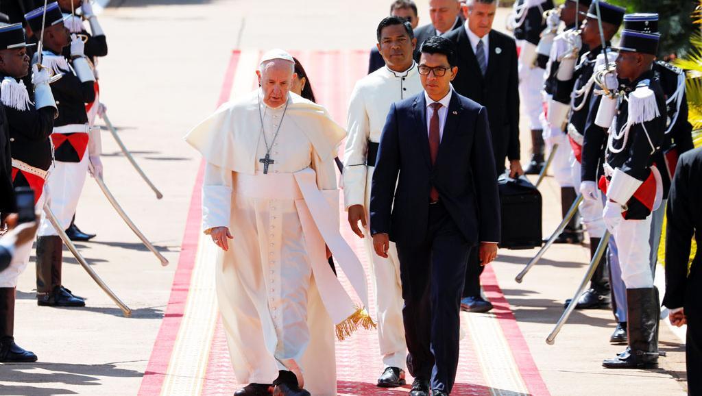 Madagascar: le pape François pointe la pauvreté «inhumaine» et l'environnement
