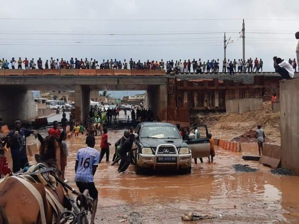 Inondations Rufisque: le Congad demande aux autorités d'arrêter de nier les méfaits du TER et de venir en aide aux populations