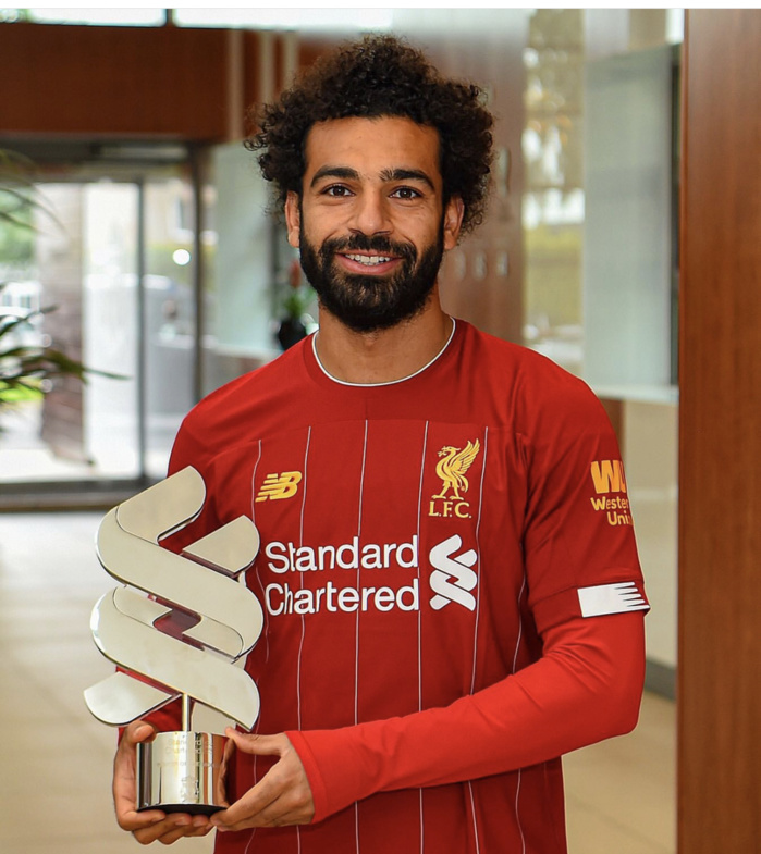 Liverpool : Mohamed Salah désigné joueur du mois d'août
