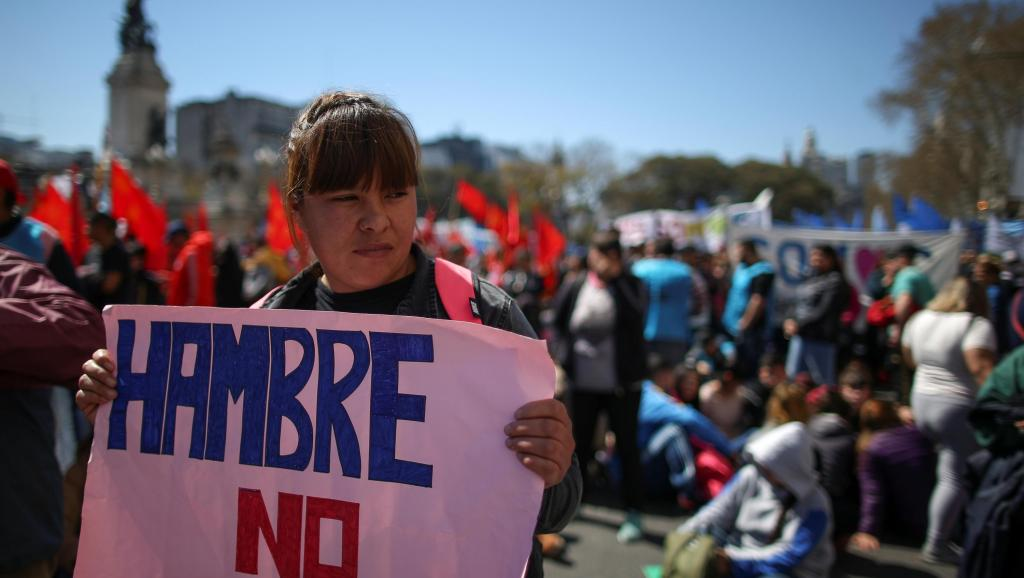 L'Argentine va voter l'état d'«urgence alimentaire» pour faire face à la crise