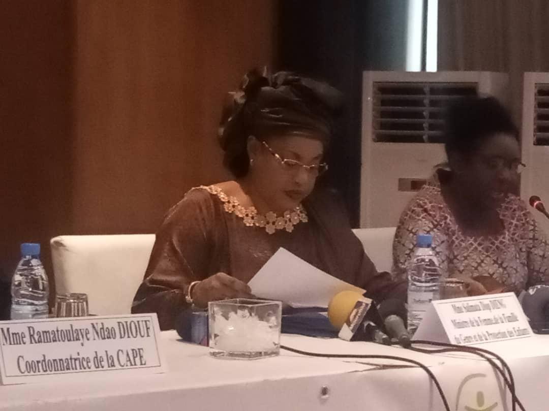 Exploitation sexuelle des enfants en ligne: le ministre Ndeye Saly Diop Dieng lance un Portail de signalement
