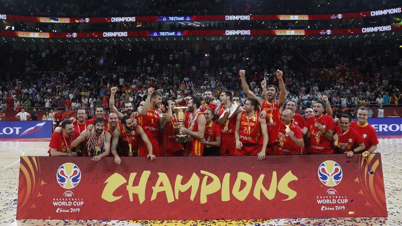 Basket: l'Espagne sur le toit du monde