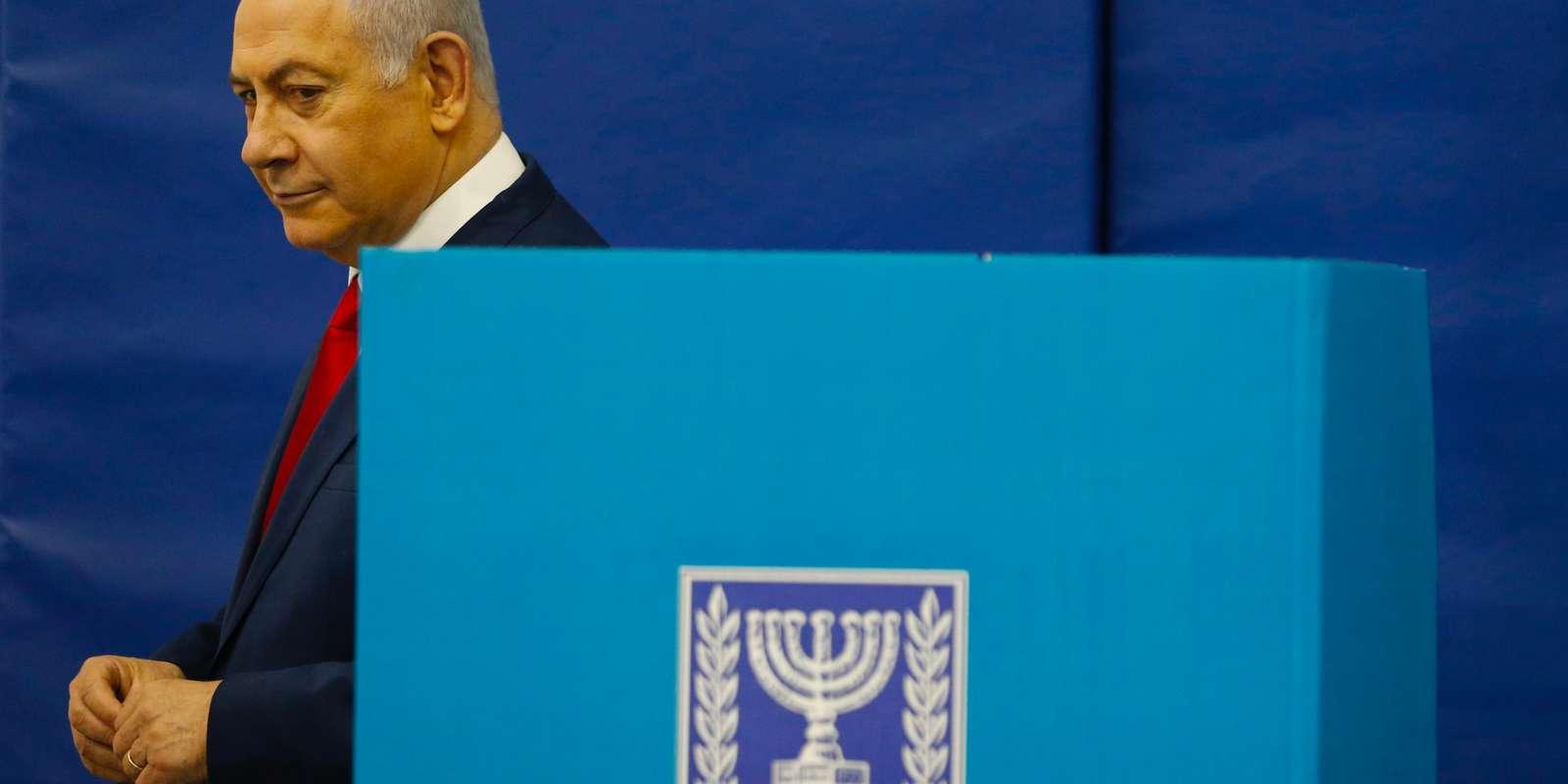 Législatives en Israël: Benyamin Netanyahu et Benny Gantz au coude-à-coude
