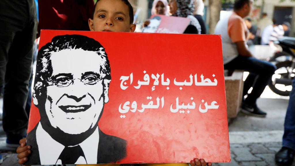 Présidentielle en Tunisie: la justice rejette la demande de libération de Karoui