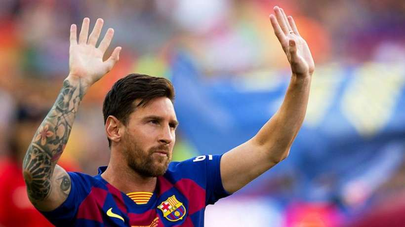 Surprise de la soirée, Lionel Messi remporte le trophée The Best FIFA Football Awards 2019