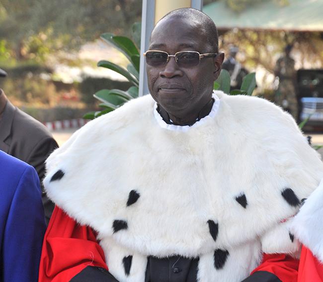 Devant l'Unesco, le président de la Cour suprême sermonne les journalistes et se fait recadrer Fatou Jagne Senghor