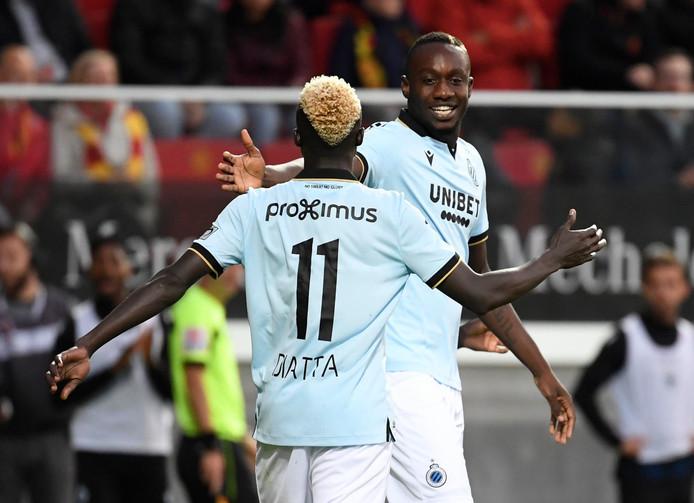 Mbaye Diagne et Krepin Diatta offrent une victoire au FC Bruges