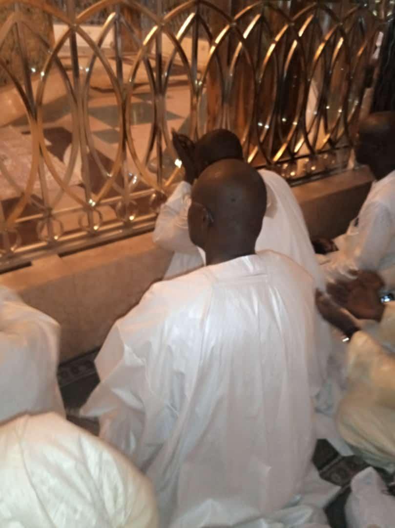 (Photos-Vidéo) : Visite de Khalifa Sall à Touba