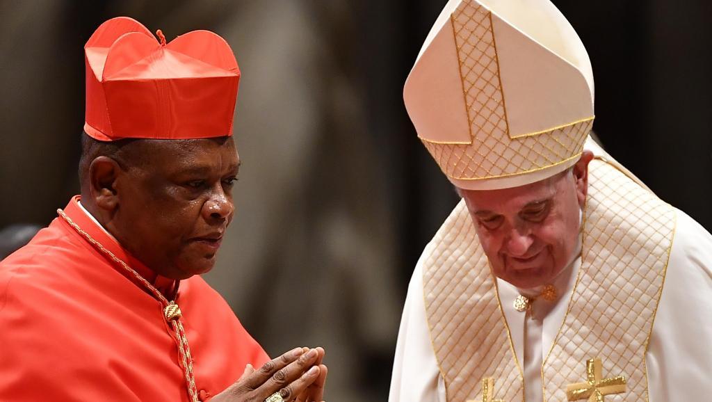 Archevêque de Kinshasa, Mgr Fridolin Ambongo, créé cardinal par le pape