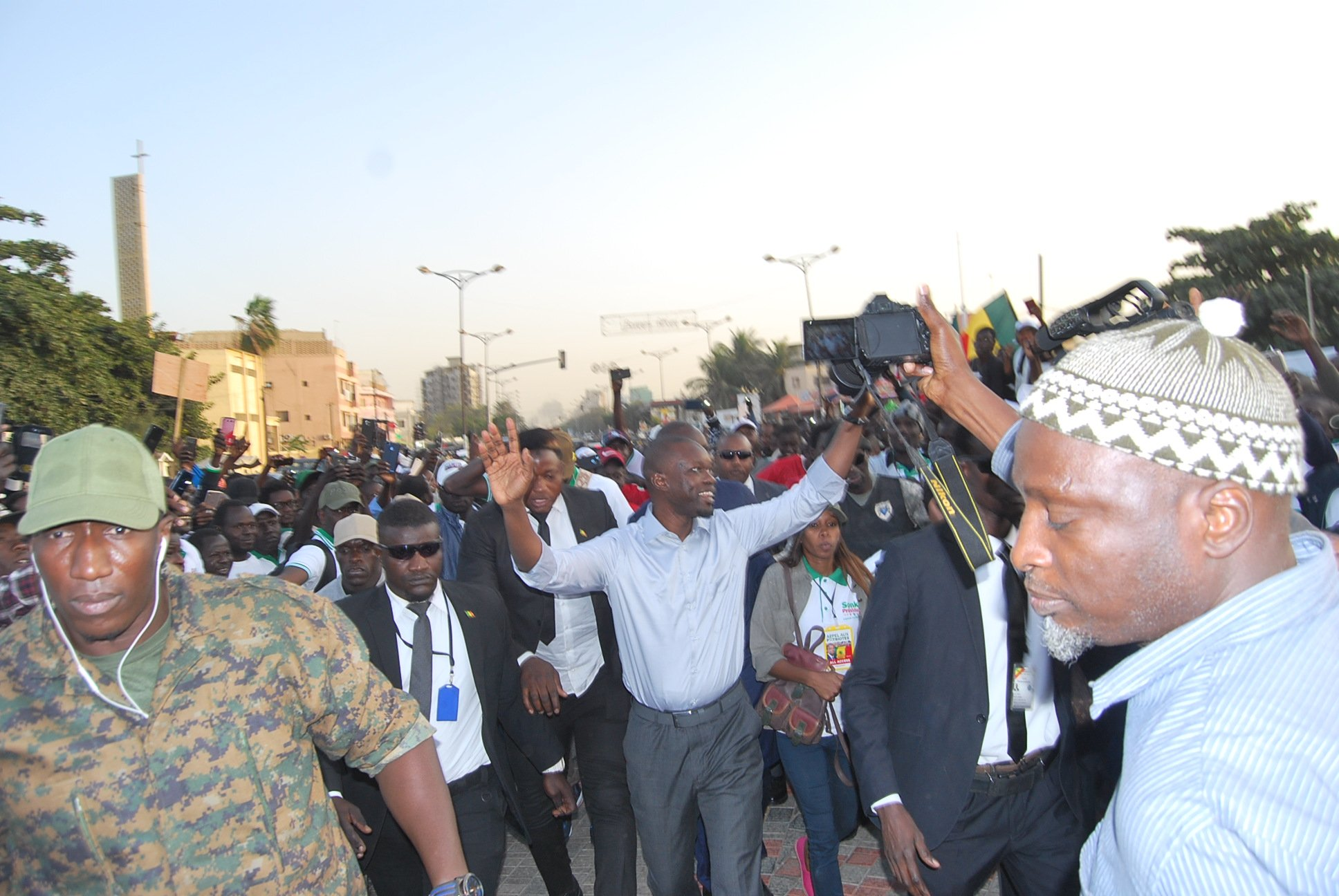 Ousmane Sonko, invité par la diaspora sénégalaise à Bamako en novembre