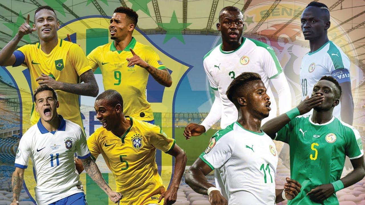 Les compos probables du match amical entre le Brésil et le Sénégal