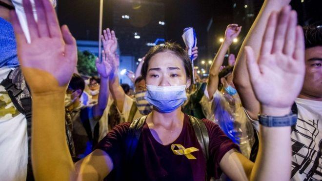 Pourquoi y a-t-il des manifestations à Hong Kong ?