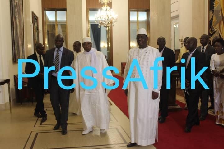Macky Sall et Abdoulaye Wade s'engagent à unir leurs forces pour le retour de la paix