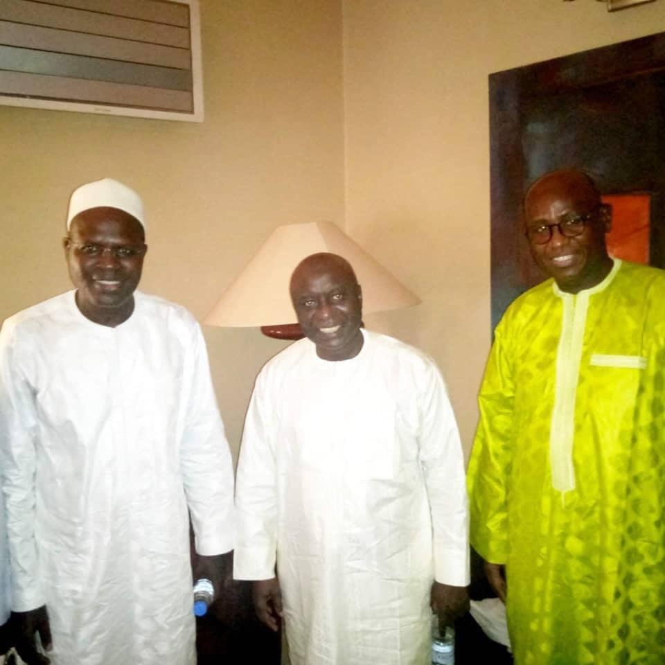 Rencontre entre Khalifa Sall et Idrissa Seck