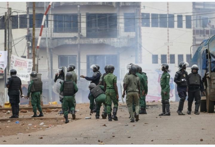 Guinée: au moins un mort lors d'une manifestation contre un 3e mandat de Alpha Condé