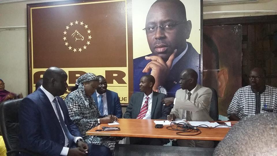 Dernier mandat de Macky annoncé par Sory Kaba: l'Apr Fatick entre dans une colère noire
