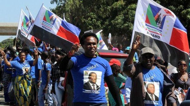 L'opposition rejette les résultats au Mozambique