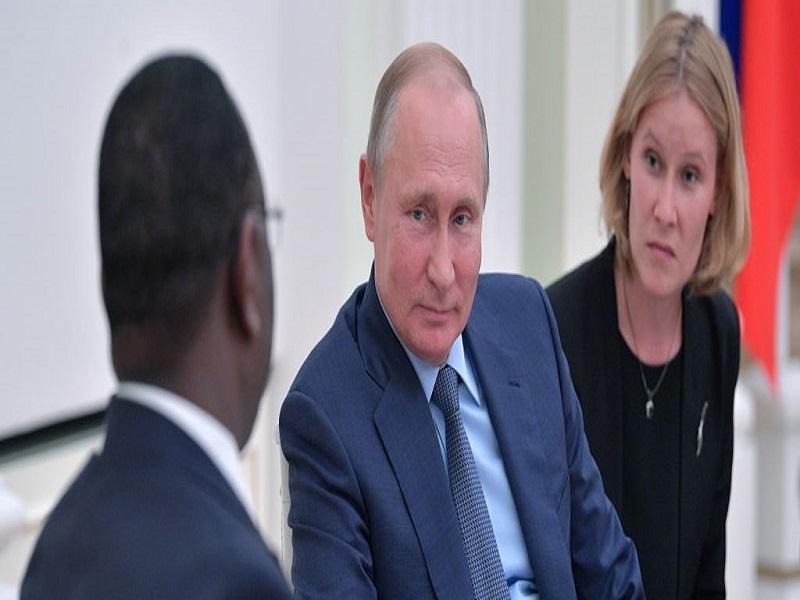 """Poutine accuse l'Occident de """"chantage"""" envers l'Afrique"""