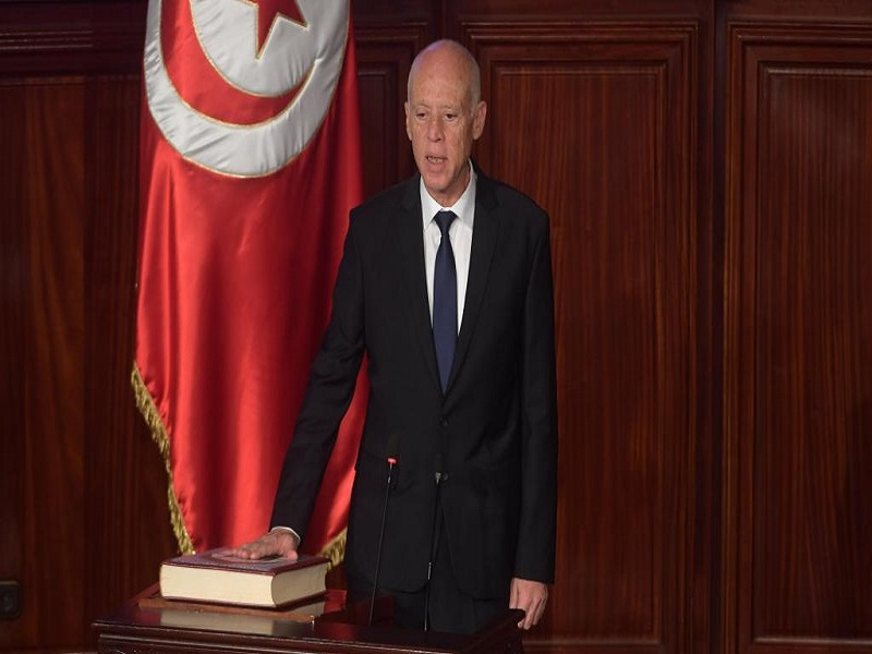 Kaïs Saïed investi président de la Tunisie
