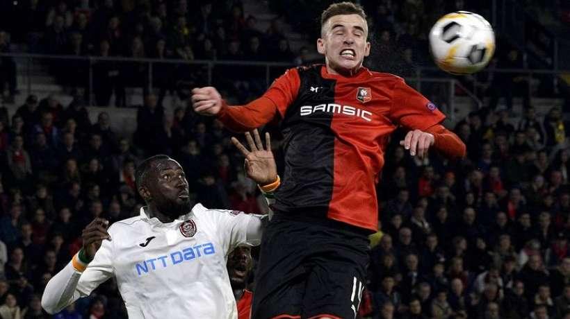 Ligue Europa : soirée cauchemardesque pour Rennes qui chute face à Cluj, Nicolas Pépé sauve Arsenal