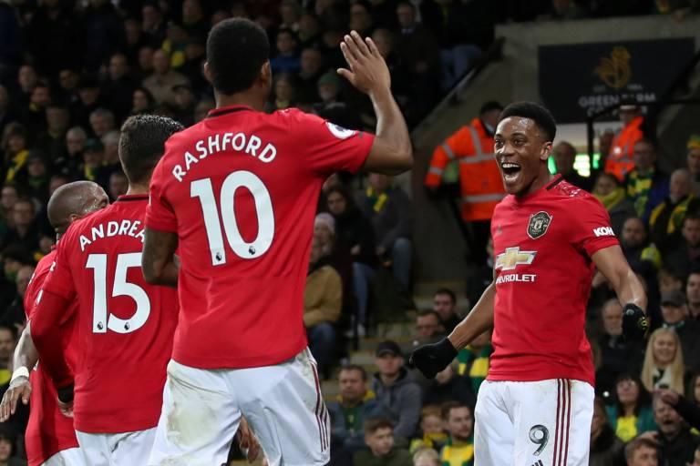 Manchester United bat Norwich et met fin à quatre matches sans victoire