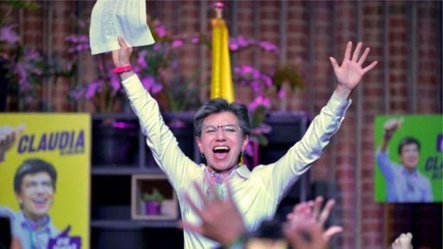Claudia Lopez: une femme lesbienne élue maire de Bogota