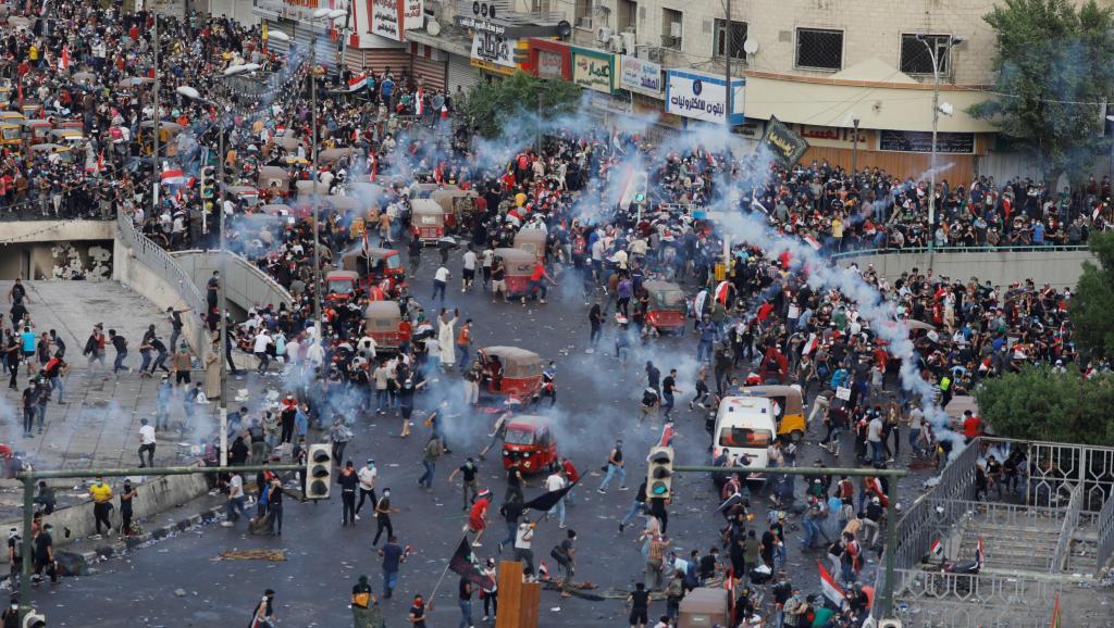De Beyrouth à Bagdad, explosion de colère au Moyen-Orient