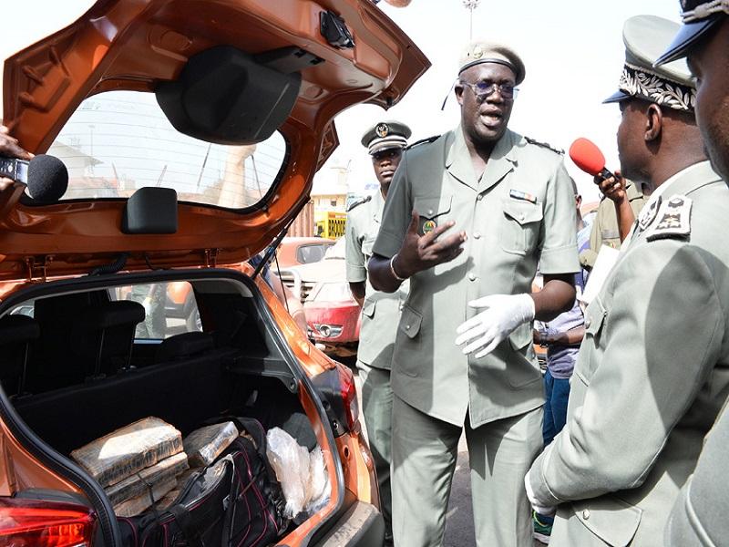 Port de Dakar : 43 kg de cocaïne d'une valeur de 3 milliards F Cfa, saisis