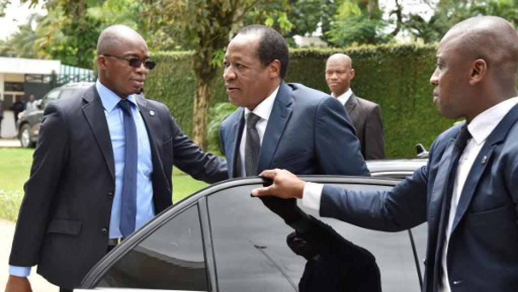 Burkina: à Abidjan, l'ancien président Blaise Compaoré rêve d'un retour au pays