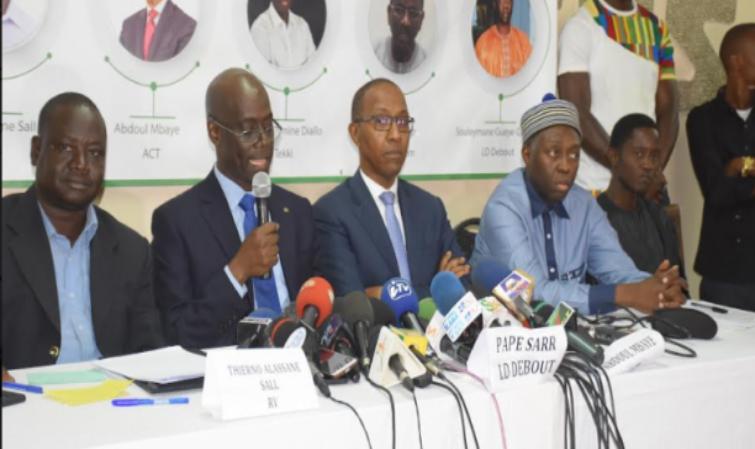 Affaire Petrotim: Les leaders du CDR dont Mamadou Lamine Diallo exigent l'activation de la Crei