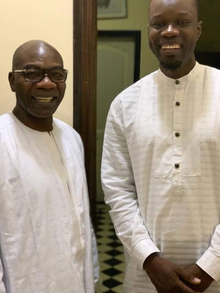 Tête-à-tête entre Ousmane Sonko et Serigne Saliou Thioune