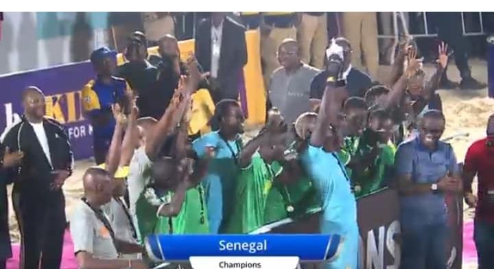 Beach Soccer : Le Sénégal remporte la Copa Lagos 2019 devant l'Angleterre