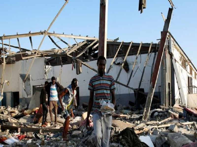 Bombardement de migrants en Libye : des enquêteurs de l'ONU soupçonnent un avion étranger