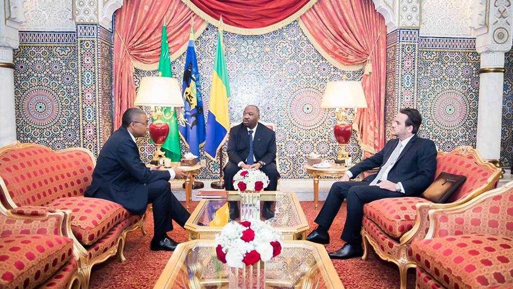 Gabon: Ali Bongo se sépare de son directeur de cabinet Brice Laccruche Alihanga