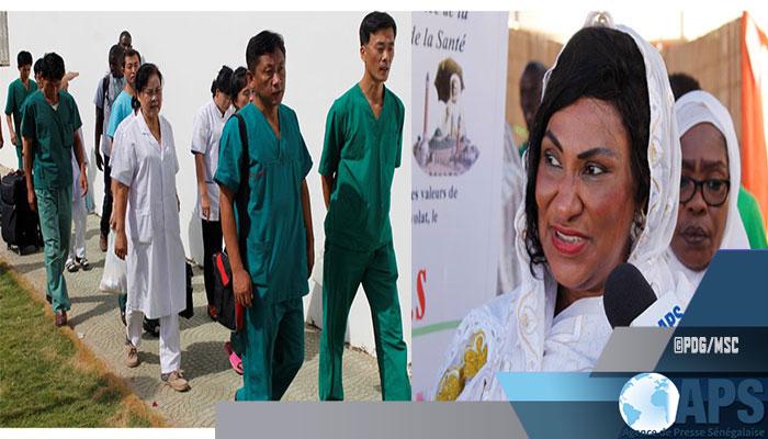 Tivaouane : des médecins coréens dans le dispositif de couverture médicale du Gamou