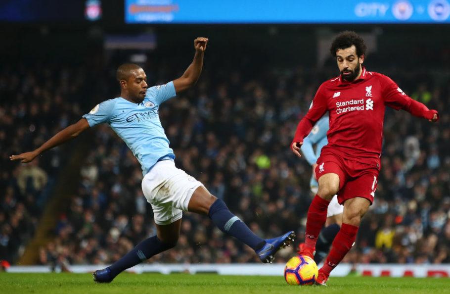 Premier League: Liverpool mène 2-0 face à Man City à la mi-temps