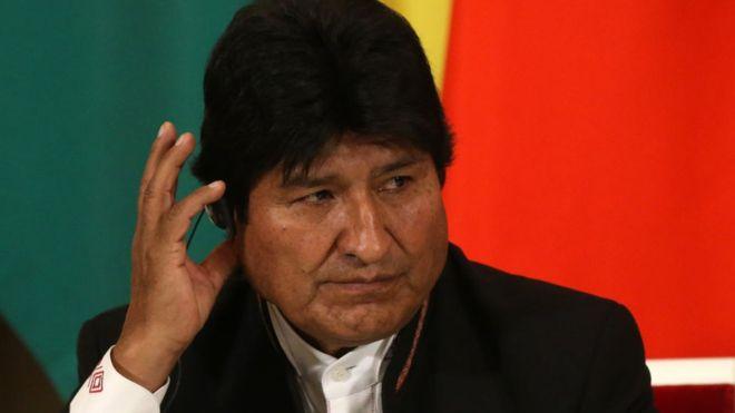 Le président bolivien Evo Morales démissionne