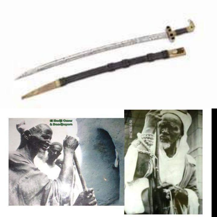 La France prête au Sénégal le sabre de Elhadj Omar Tall pour une durée de 5 ans