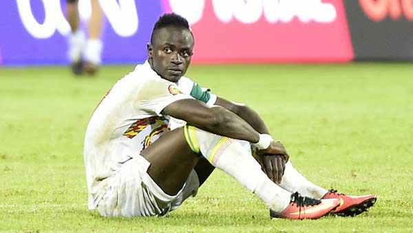 """Infirmerie des """"Lions"""": Sadio Mané souffre d'une blessure à la cuisse"""