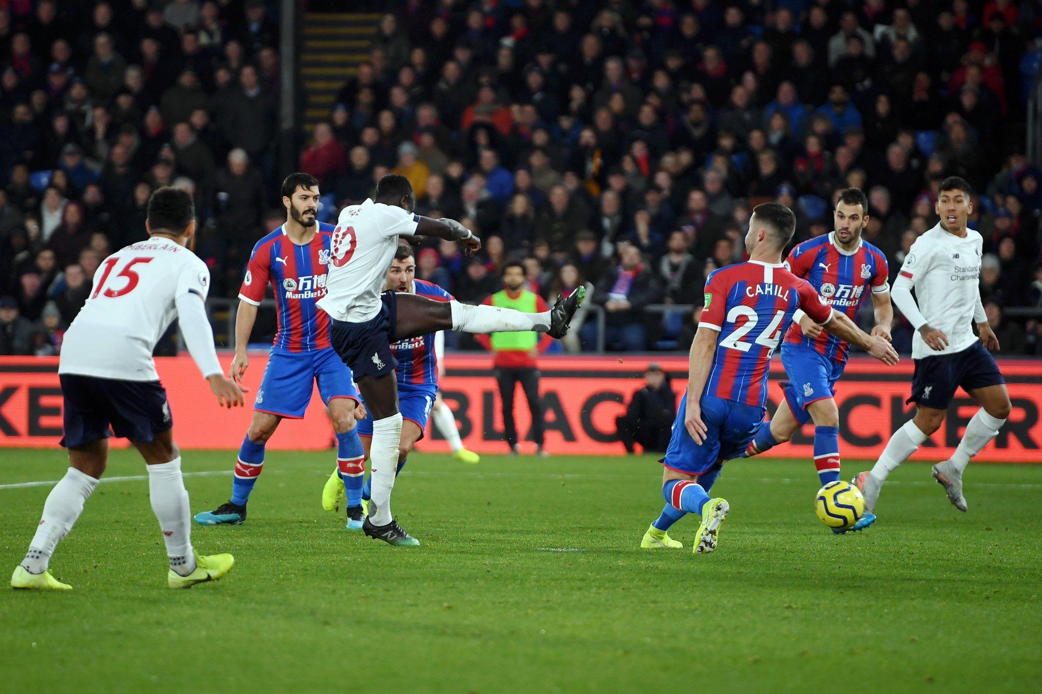#PremierLeague - Sadio Mané ouvre le score à Crystal Palace (0-1)
