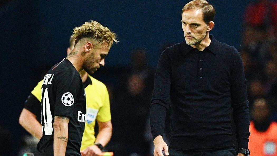 Réal Madrid-Psg: Neymar relégué sur le banc par Tuchel après son comportement contre Lille