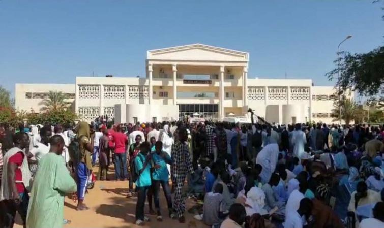Louga: l'affaire mise en délibéré le 4 décembre, les populations défoncent la porte du tribunal pour libérer Cheikhouna Gueye