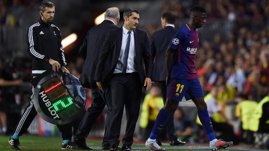 Barça: Ousmane Dembélé absent 10 semaines